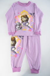 Pijamale fetite Sophia Purple