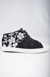 Tenisi barbati Black Flowers