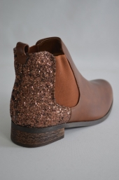 Botine femei L09 Light Brown