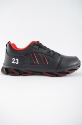 Pantofi sp.b.230 Black-Red