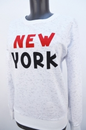 Bluza f.New York alb