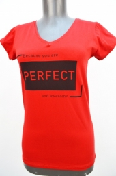 Tricou f.Perfect rosu