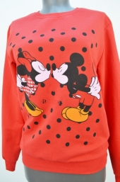 Bluza f.Mickey si Minnie rosu