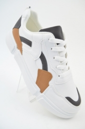 Sneakers b.A12 White-Grey